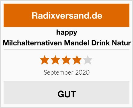 Happy Milchalternativen Mandel Drink Natur Test