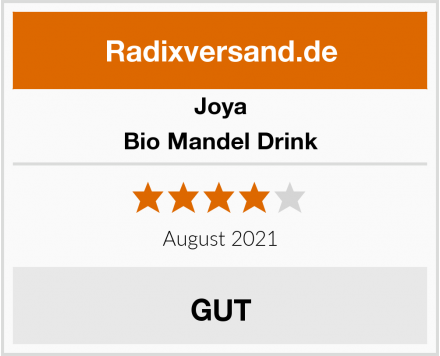 Joya Bio Mandel Drink Test