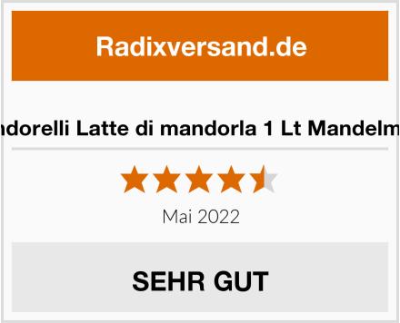 Condorelli Latte di mandorla 1 Lt Mandelmilch Test
