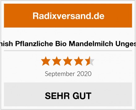 Plenish Pflanzliche Bio Mandelmilch Ungesüßt Test