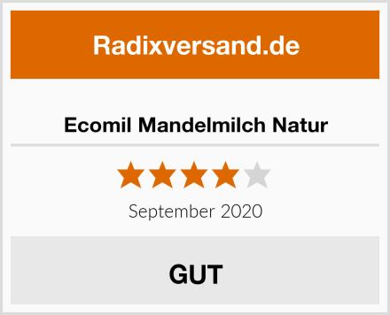 Ecomil Mandelmilch Natur Test