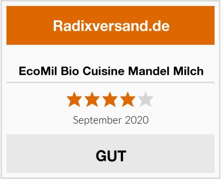 EcoMil Bio Cuisine Mandel Milch Test