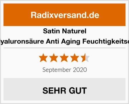 Satin Naturel BIO Hyaluronsäure Anti Aging Feuchtigkeitscreme Test
