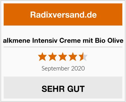 alkmene Intensiv Creme mit Bio Olive Test