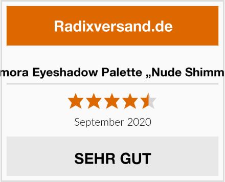 "Lamora Eyeshadow Palette ""Nude Shimmer"" Test"