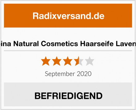 Meina Natural Cosmetics Haarseife Lavendel Test