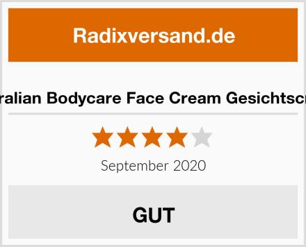 Australian Bodycare Face Cream Gesichtscreme Test
