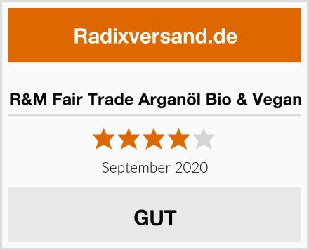 R&M Fair Trade Arganöl Bio & Vegan Test