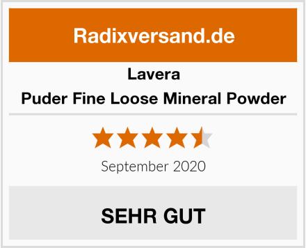 Lavera Puder Fine Loose Mineral Powder Test