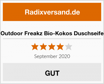 Outdoor Freakz Bio-Kokos Duschseife Test