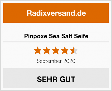 Pinpoxe Sea Salt Seife Test