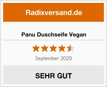 Panu Duschseife Vegan Test