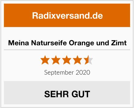 Meina Naturseife Orange und Zimt Test