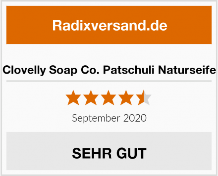 Clovelly Soap Co. Patschuli Naturseife Test