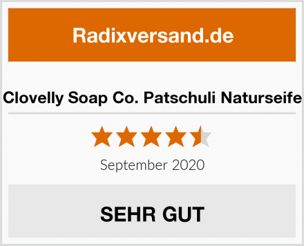 Clovelly Soap Co. Patschuli Naturseife Test