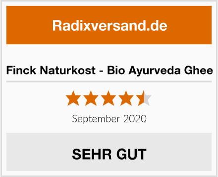 Finck Naturkost - Bio Ayurveda Ghee Test