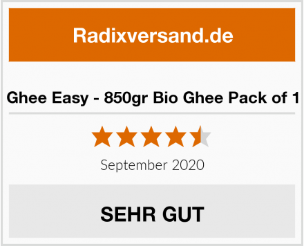 Ghee Easy - 850gr Bio Ghee Pack of 1 Test