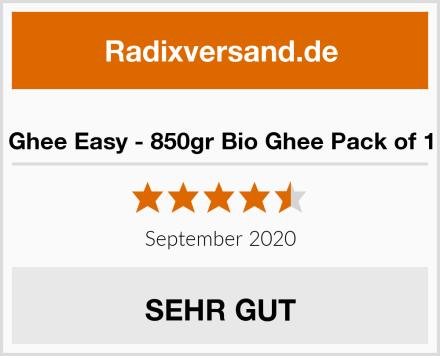 Ghee Easy - 850gr Bio Ghee Pack of 1 Test