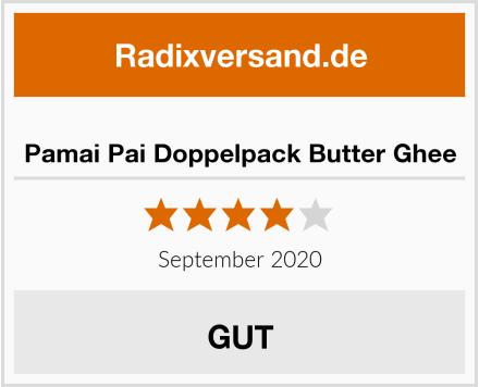 Pamai Pai Doppelpack Butter Ghee Test