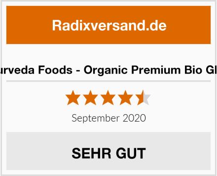 Ayurveda Foods - Organic Premium Bio Ghee Test