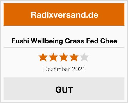 Fushi Wellbeing Grass Fed Ghee Test