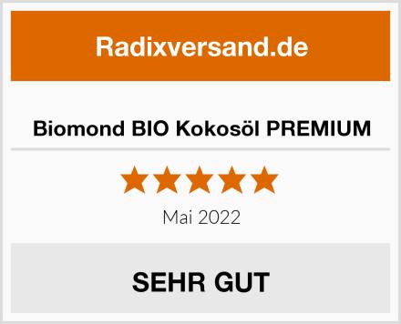 Biomond BIO Kokosöl PREMIUM Test