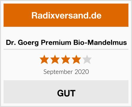 Dr. Goerg Premium Bio-Mandelmus Test