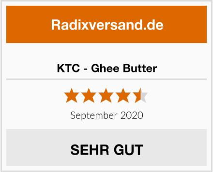 KTC - Ghee Butter Test