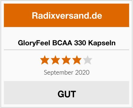 GloryFeel BCAA 330 Kapseln Test
