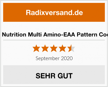 Gen German Elite Nutrition Multi Amino-EAA Pattern Code - 500 Tabletten Test