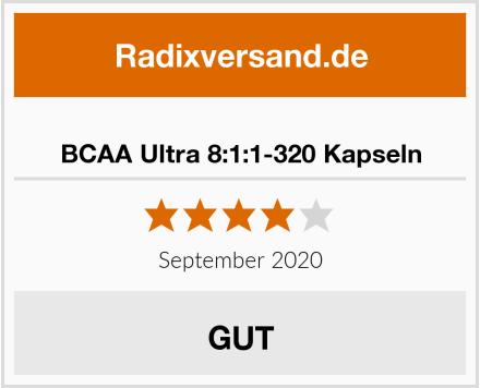 BCAA Ultra 8:1:1-320 Kapseln Test