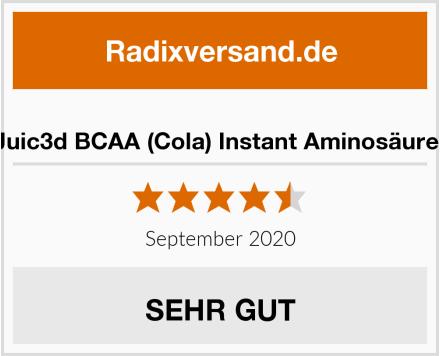 sinob Juic3d BCAA (Cola) Instant Aminosäure Pulver Test