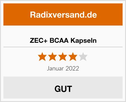 ZEC+ BCAA Kapseln Test
