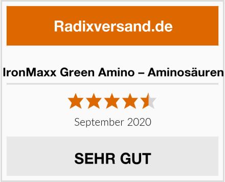 IronMaxx Green Amino – Aminosäuren Test