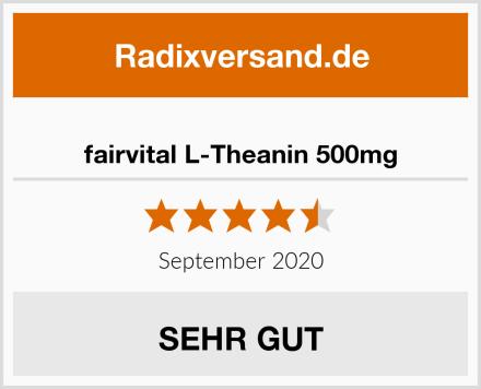 fairvital L-Theanin 500mg Test