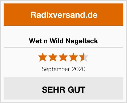 Wet n Wild Nagellack Test