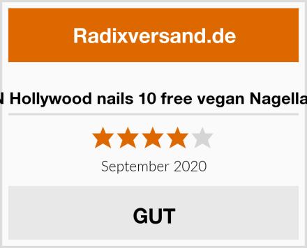 HN Hollywood nails 10 free vegan Nagellack Test