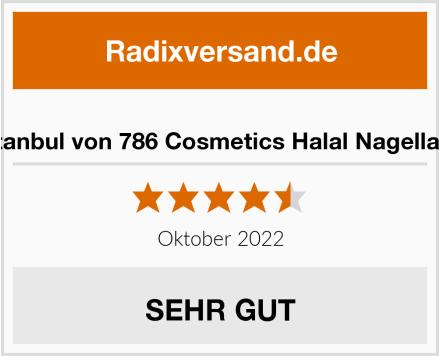 Istanbul von 786 Cosmetics Halal Nagellack Test