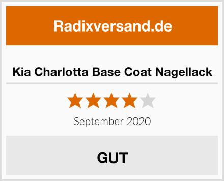 Kia Charlotta Base Coat Nagellack Test