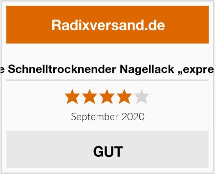 """Essie Schnelltrocknender Nagellack """"expressie"""" Test"""