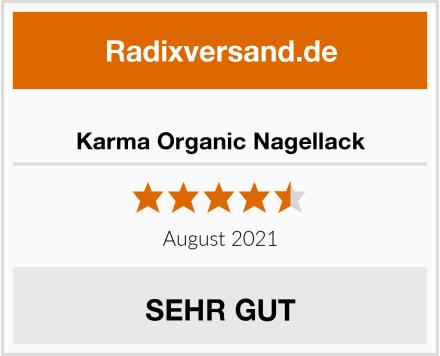Karma Organic Nagellack Test
