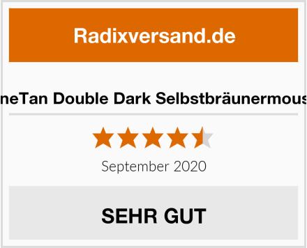 MineTan Double Dark Selbstbräunermousse Test