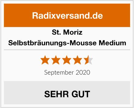 St. Moriz Selbstbräunungs-Mousse Medium Test