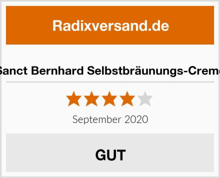 Sanct Bernhard Selbstbräunungs-Creme Test