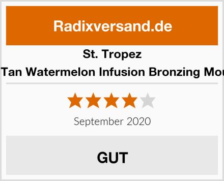 St.Tropez Self Tan Watermelon Infusion Bronzing Mousse Test