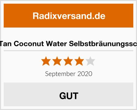 MineTan Coconut Water Selbstbräunungsschaum Test