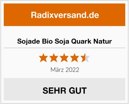 Sojade Bio Soja Quark Natur Test