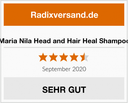 Maria Nila Head and Hair Heal Shampoo Test