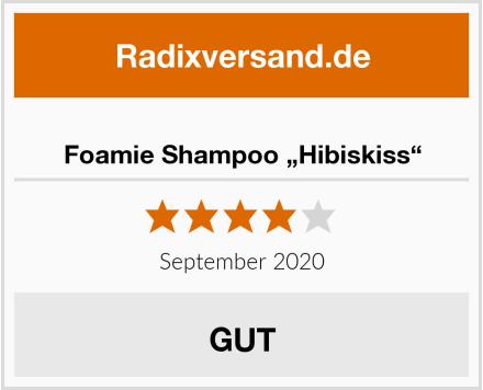 "Foamie Shampoo ""Hibiskiss"" Test"