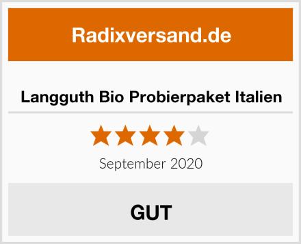Langguth Bio Probierpaket Italien Test